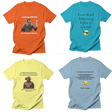The Winners for the Meme T-Shirts: