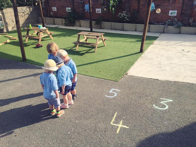 Chalk Number Learning