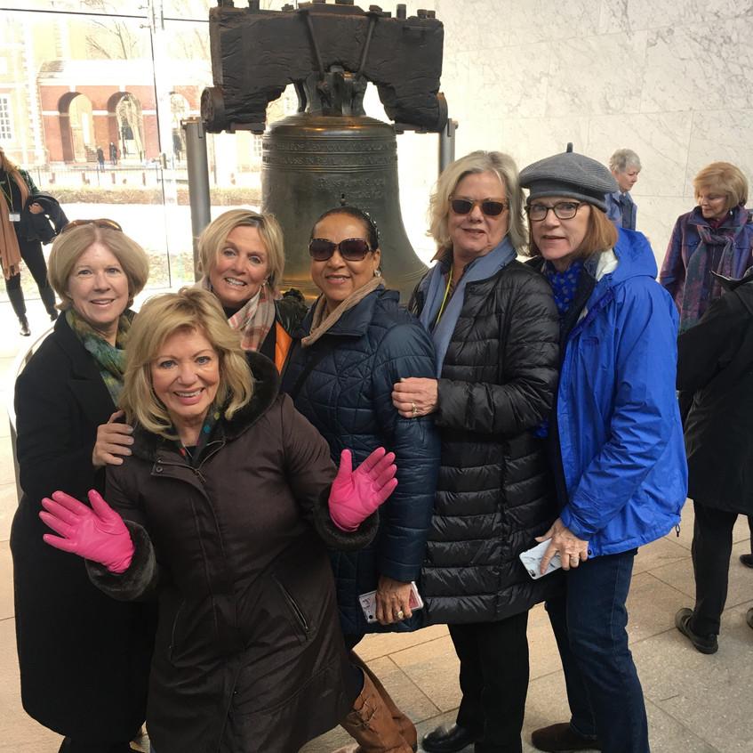 group at liberty bell