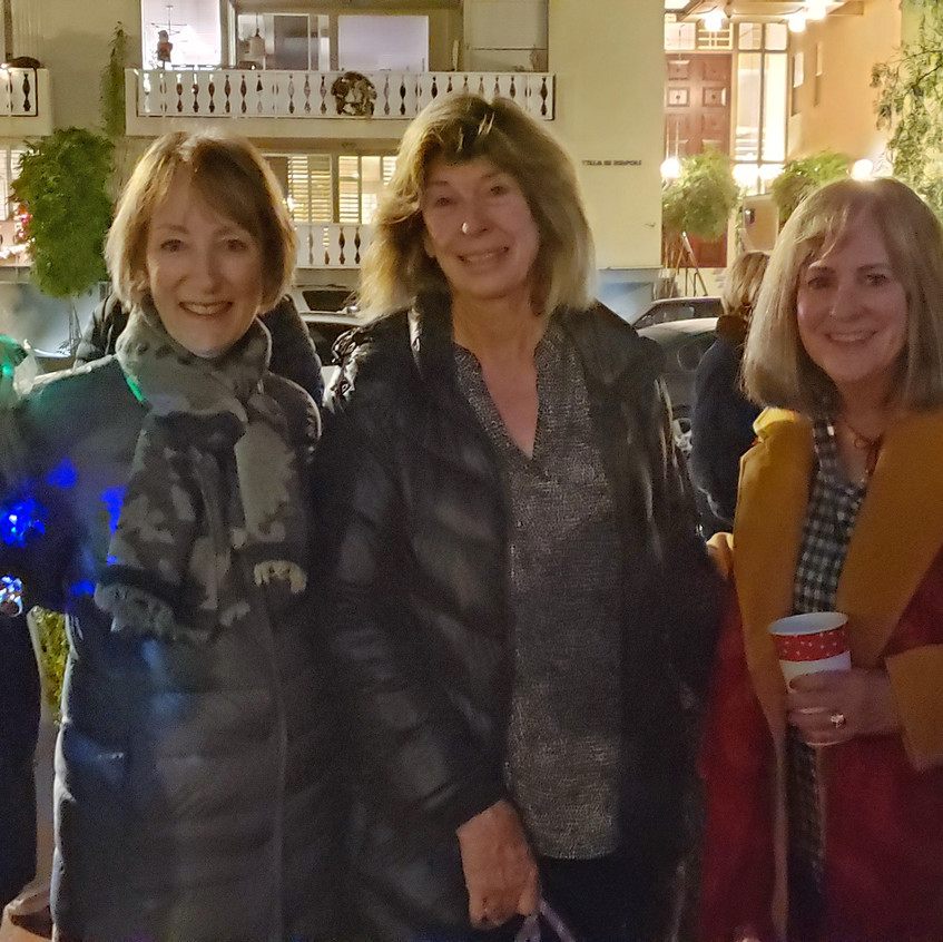 Cathy,Maureen, Pam, Kay