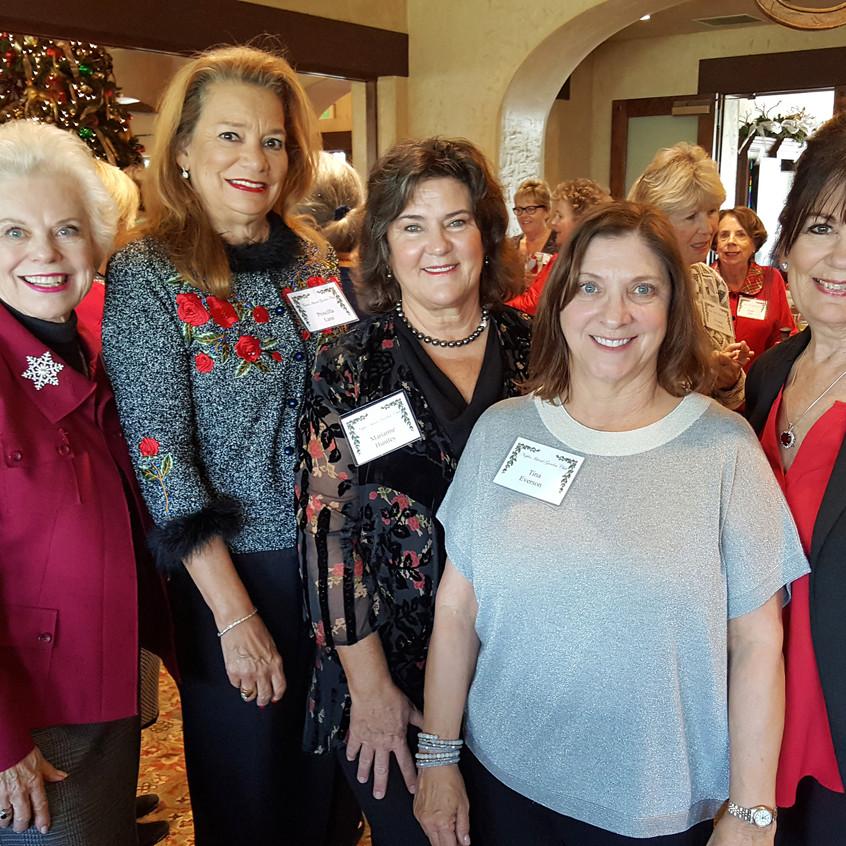 Mary Lu Huntley, Priscilla, Marianne, Tina, Cathy Rogers