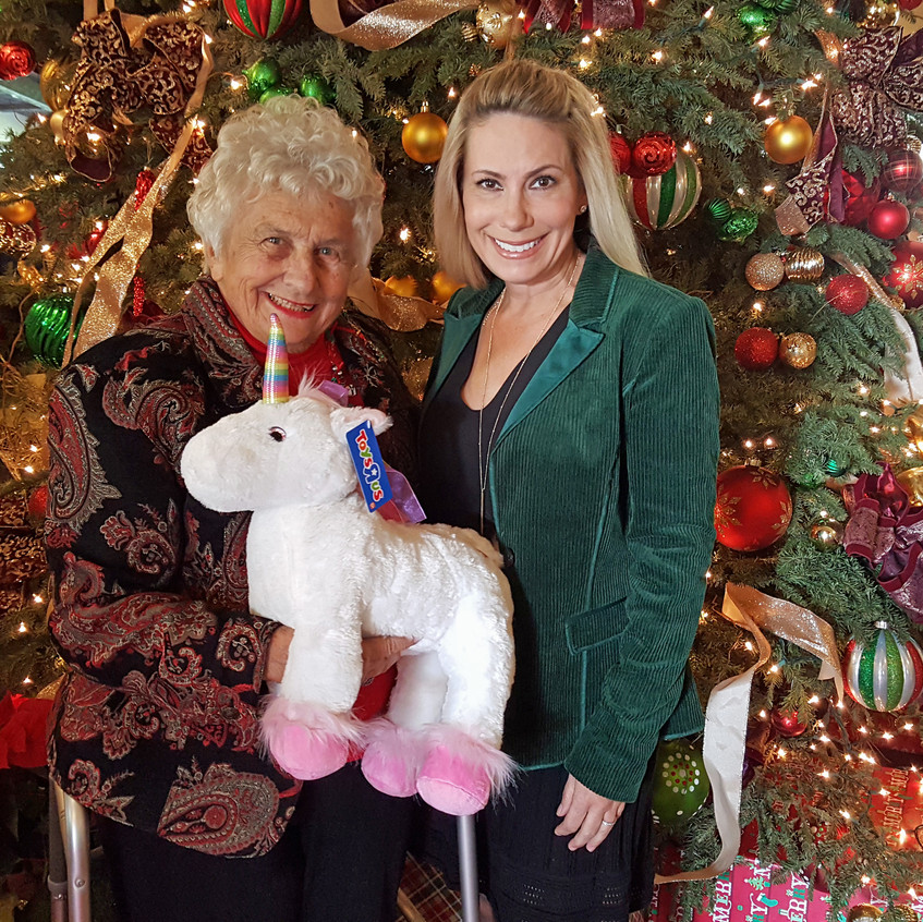 Jeanie and April Miller