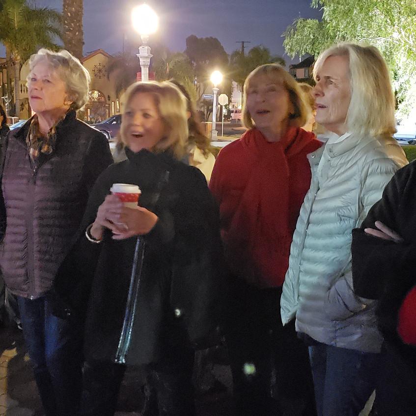 members singing