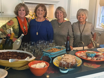 SIP 'N NIBBLE 'N DONATE PARTY!