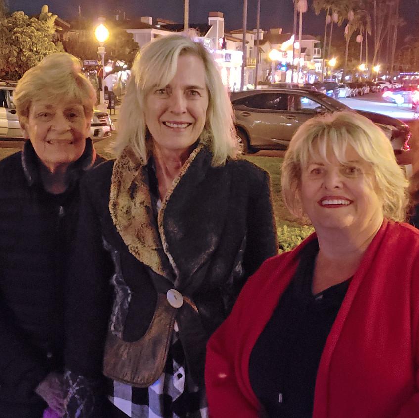 Sally, Carolyn, Jeanne