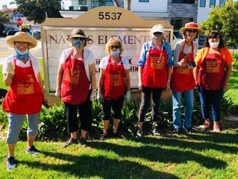 September 22 Naples School Gardening