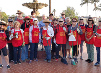 Red Apron Ladies - Beautification Projects