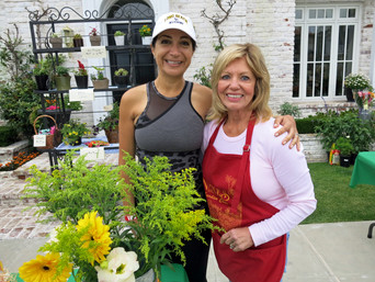 NIGC Plant Boutique Co-Chairs NIGC PLANT BOUTIQUE AT NIA PANCAKE BREAKFAST 2017
