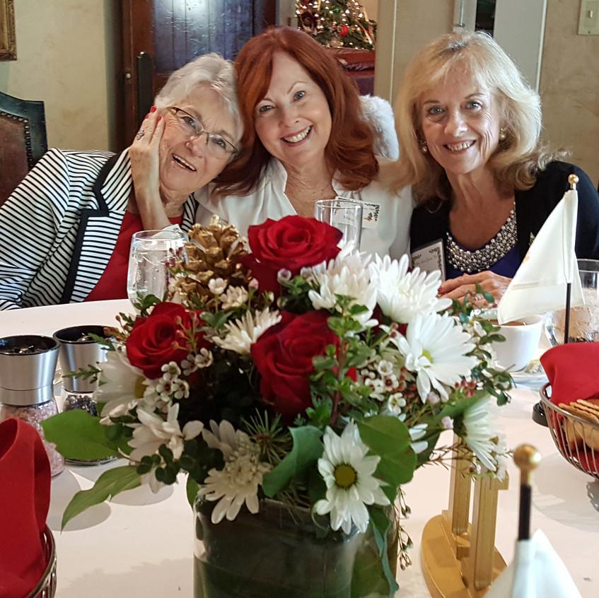 Mary Jo, Lynne, Cindy