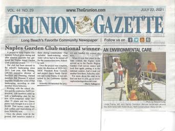 Naples Garden Club National Winner - Grunion Gazette