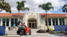 OUR PRAISES ARE SUNG FOR NIGC GIFT OF NAPLES SCHOOL PALMS