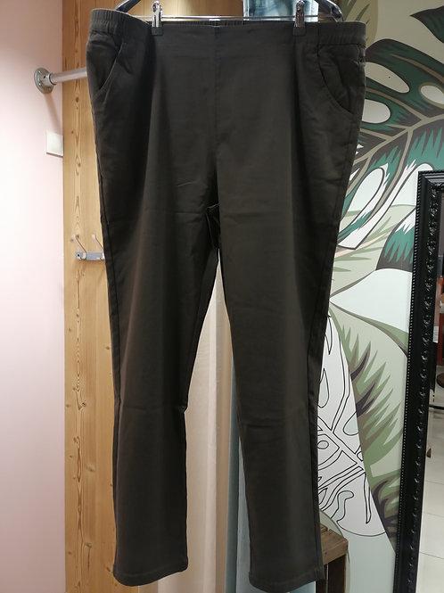 pantalon taille élastique avec poches