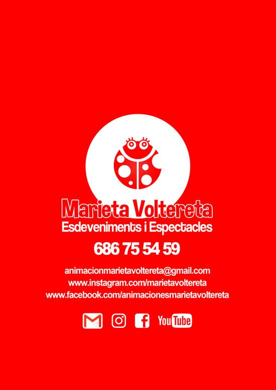 MARIETA VOLTERETA - DISSENY DOSSIER COMERCIAL