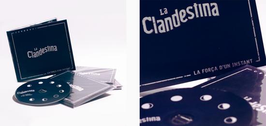 """LA CLANDESTINA - PRODUCCIÓ MUSICAL ÀLBUM """"LA FORÇA D'UN INSTANT"""""""