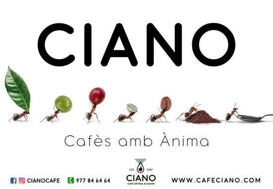 CAFÈ CIANO - DISSENY CALENDARI 2020 CAT