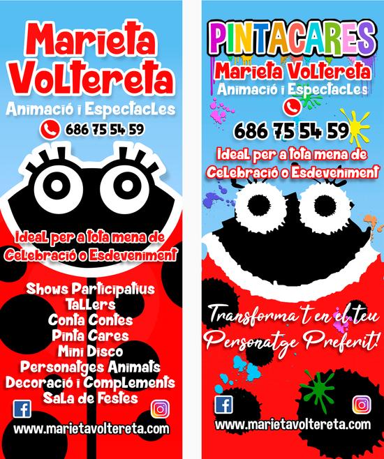 MARIETA VOLTERETA - DISSENY ROLL UP'S PROMOCIÓ