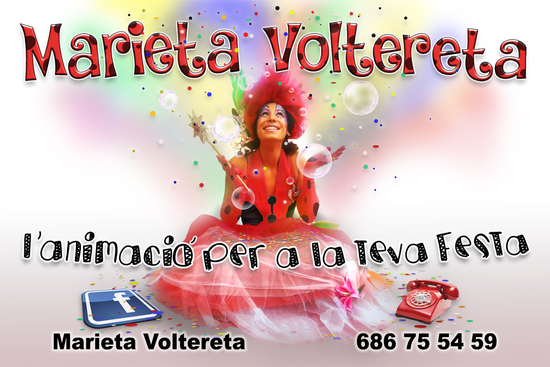 MARIETA VOLTERETA - DISSENY FLYER 2017