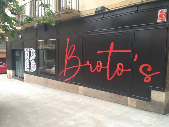 BROTO'S - FOTOS DISSENY RÈTOLS ESTABLIMENT