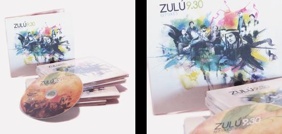 """ZULÚ 9.30 DISC """"REMIXES"""""""