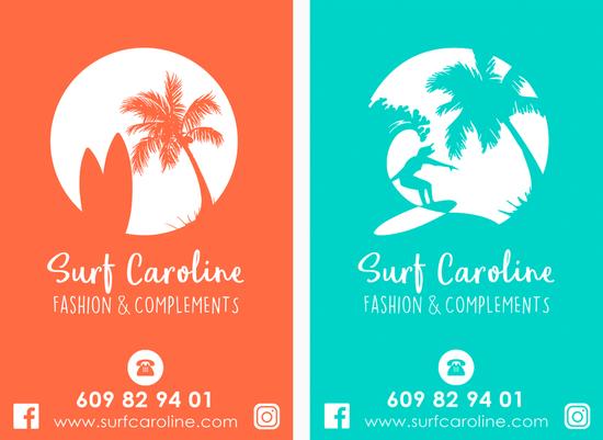 SURF CAROLINE - DISSENY FLYER PROMOCIONAL