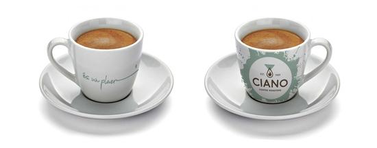 CAFÈ CIANO - DISSENY GRAFISME TASSES PROMO