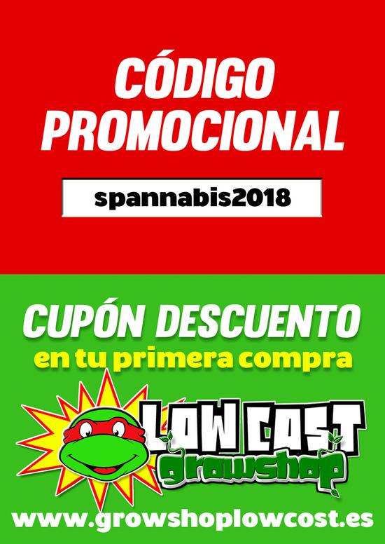 LOX COST - DISSENY FLYER PROMO SPANNABIS