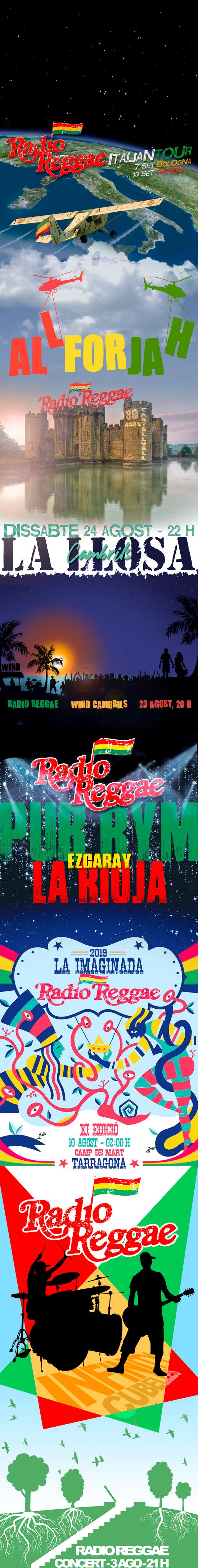 RADIO REGGAE - DISSENY INSTAGRAM PAGE