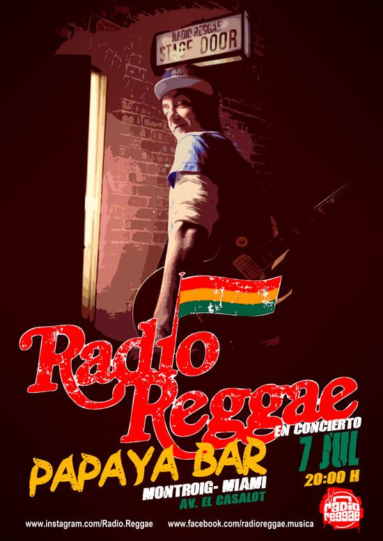 RADIO REGGAE - DISSENY CARTELLERIA PROMOCIONAL
