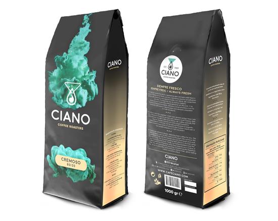 CAFÈ CIANO - DISSENY PACKAGING COMERCIAL