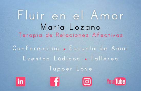 FLUIR EN EL AMOR - DISSENY TARGETA VISITA 2019