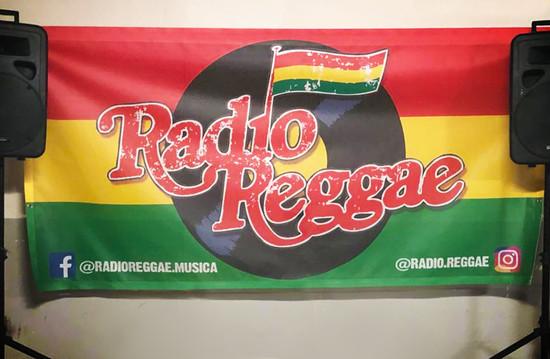 RADIO REGGAE - DISSENY LONA PROMOCIONAL