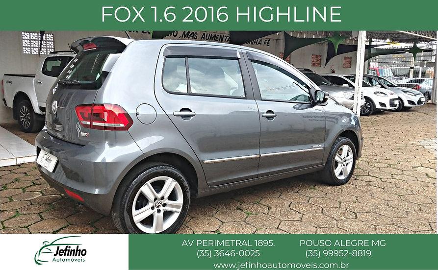 FOX 1.6 2016 HIGHLINE