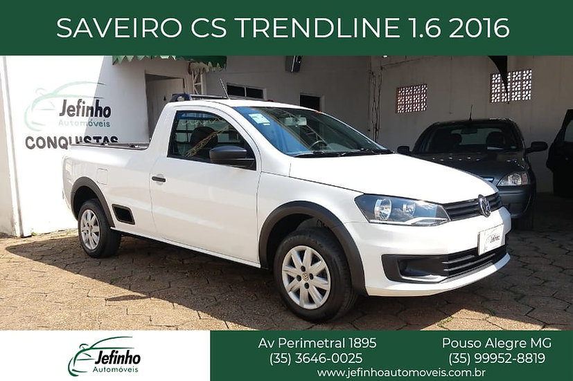 Saveiro CS Trendline 1.6 2016