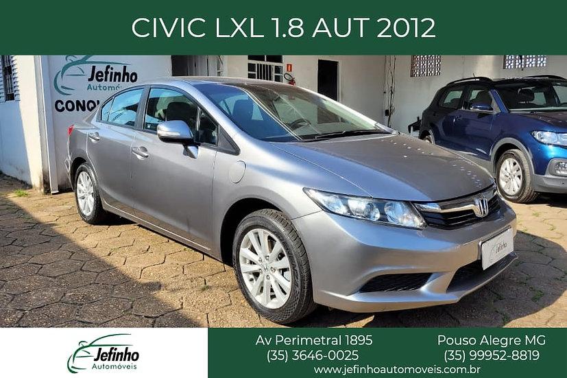 CIVIC LXL 1.8 AUT. 2012