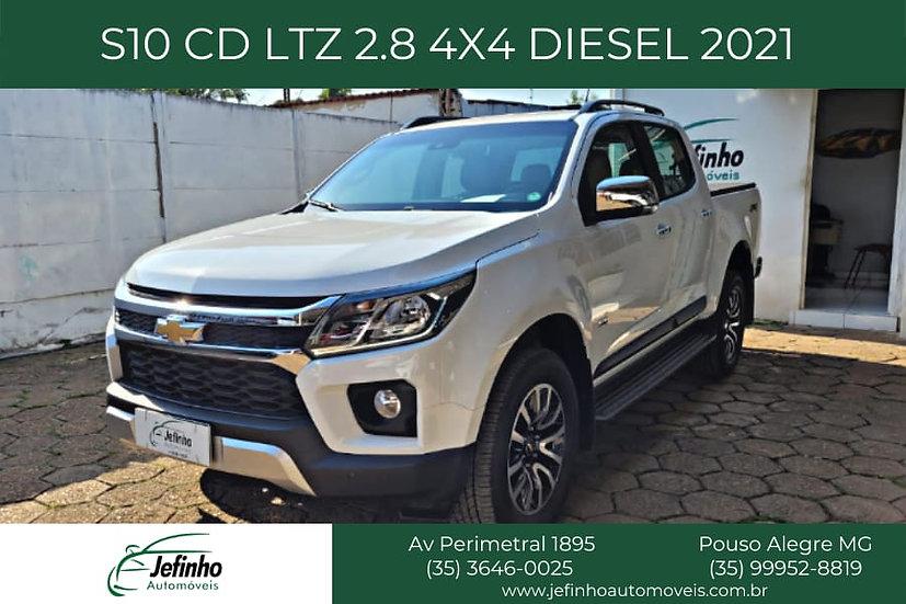 S10 CD LTZ 2.8 4X4 DIESEL 2021