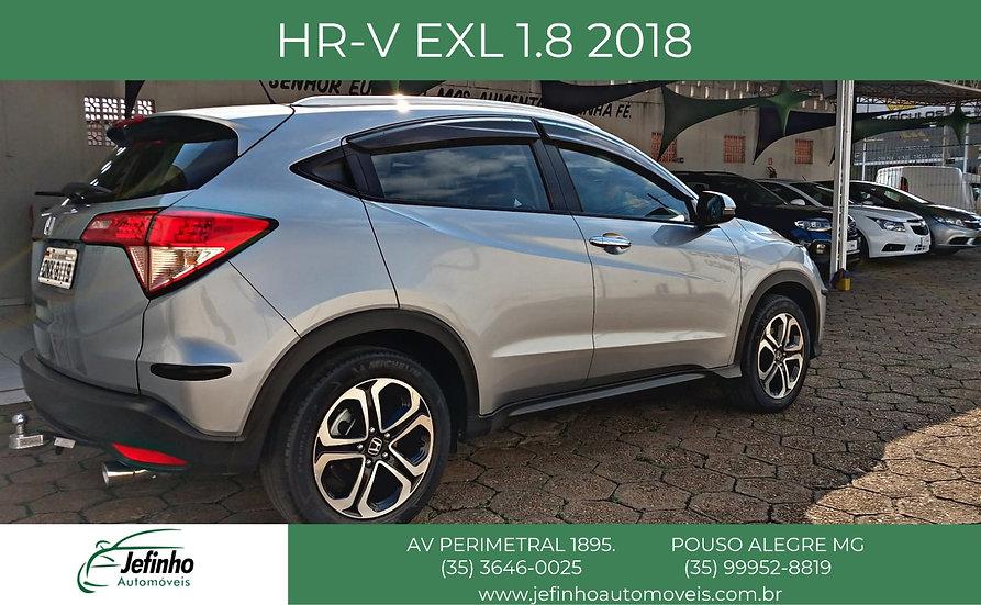 HR-V EXL 1.8 AUT 2018