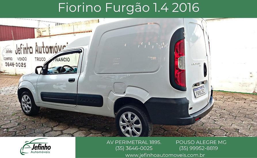 FIORINO FURGÃO 1.4 2016