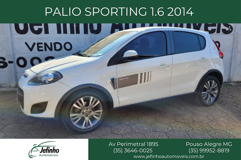 PALIO SPORTING 1.6 2014 COMPLETO