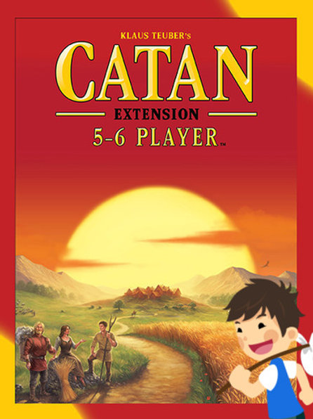 Catan 5-6 players extension