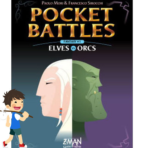 Pocket Battles Elves vs Orcs