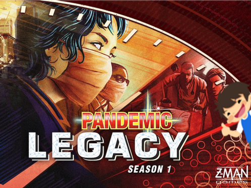 Pandemic Legacy Season 1 (Red)