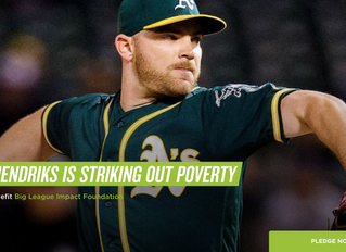 Liam Hendricks Striking Out Poverty