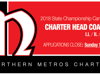 CHARTER Head Coaches Required