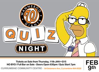 WGBC Quiz Night