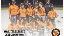 Giants Clinch LL Club Champs State Title