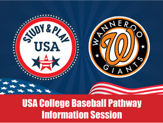 'Study & Play USA' College Pathway Info Night