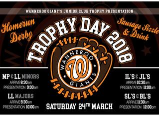 WGBC Junior Club Trophy Day 2018