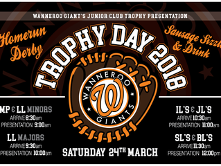 WGBC Junior Club Trophy Day 2018