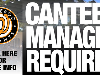 Canteen Manager Required