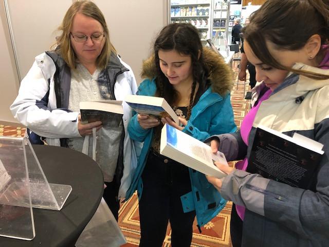 Salon du livre de Rimouski. Novembre 2019
